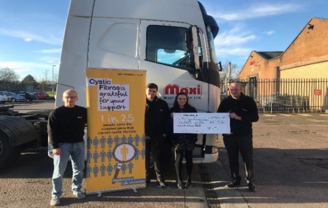 maxi haulage charity fundraising
