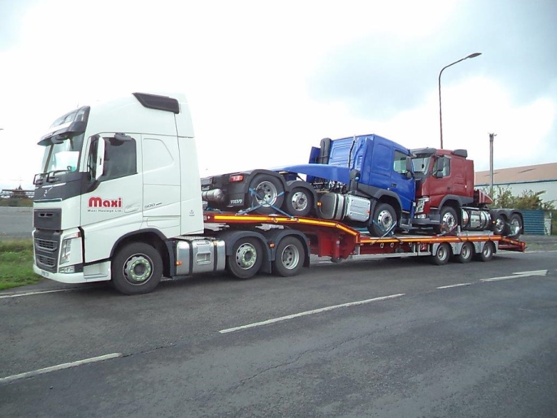 Maxi Haulage New Volvo low loader